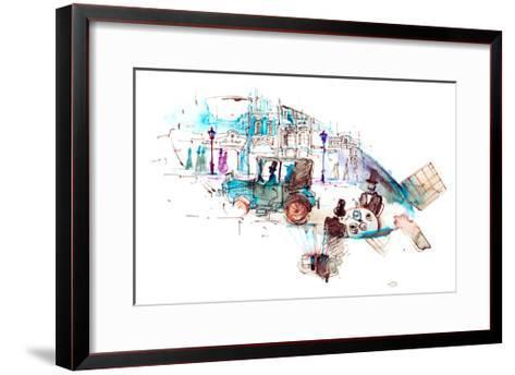 Last Century-okalinichenko-Framed Art Print
