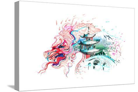 China-okalinichenko-Stretched Canvas Print
