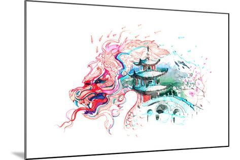 China-okalinichenko-Mounted Art Print