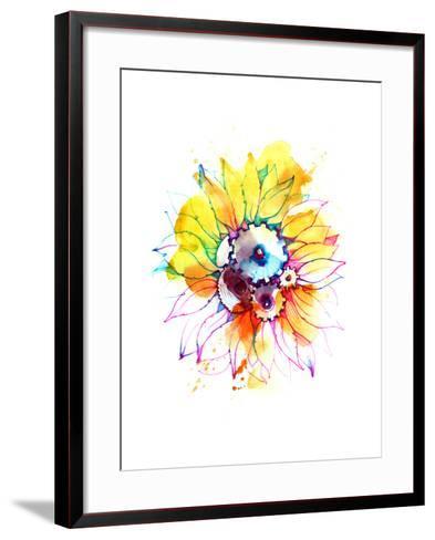 Sunflower-okalinichenko-Framed Art Print