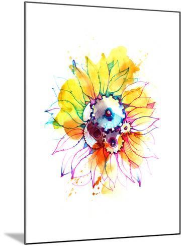 Sunflower-okalinichenko-Mounted Art Print