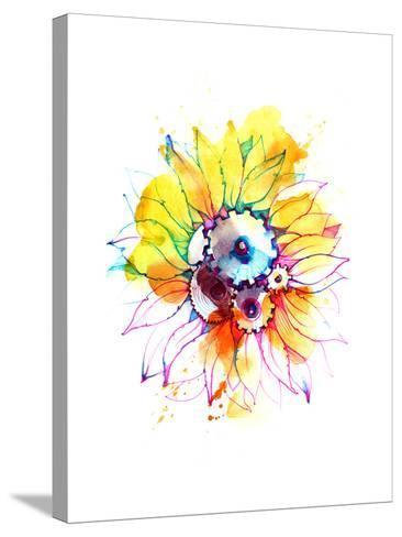 Sunflower-okalinichenko-Stretched Canvas Print