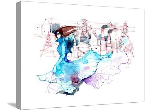 Beauty and Ecology-okalinichenko-Stretched Canvas Print