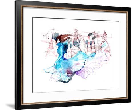Beauty and Ecology-okalinichenko-Framed Art Print