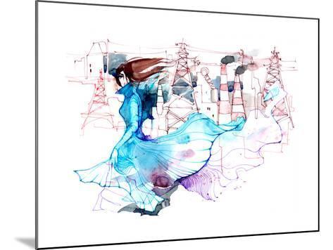 Beauty and Ecology-okalinichenko-Mounted Art Print