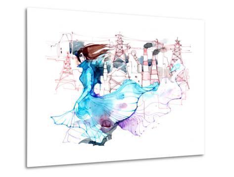 Beauty and Ecology-okalinichenko-Metal Print