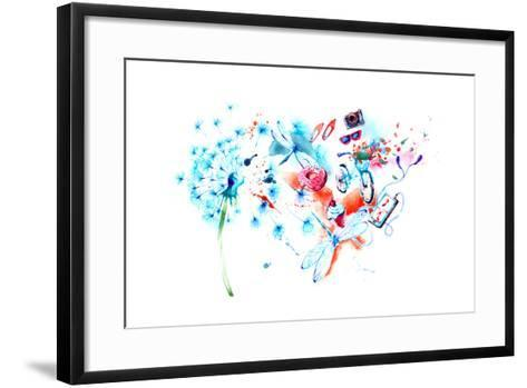 Summer-okalinichenko-Framed Art Print
