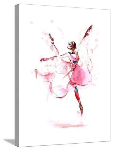 Ballet-okalinichenko-Stretched Canvas Print