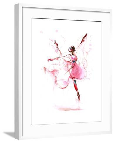 Ballet-okalinichenko-Framed Art Print