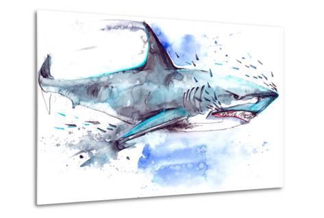 Shark-okalinichenko-Metal Print