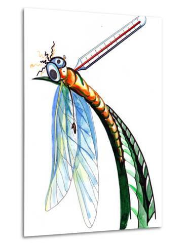 Thermometer for Insects-okalinichenko-Metal Print