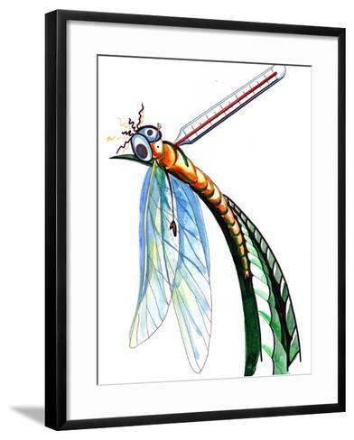 Thermometer for Insects-okalinichenko-Framed Art Print