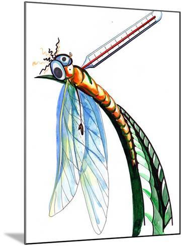 Thermometer for Insects-okalinichenko-Mounted Art Print