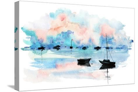 Boat-okalinichenko-Stretched Canvas Print