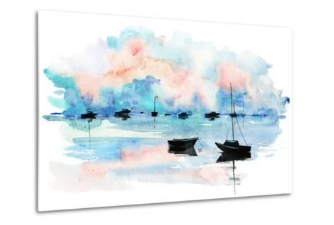 Boat-okalinichenko-Metal Print