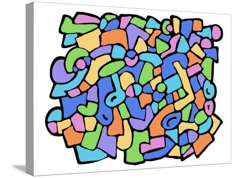 Fantasia Colorata-goccedicolore-Stretched Canvas Print