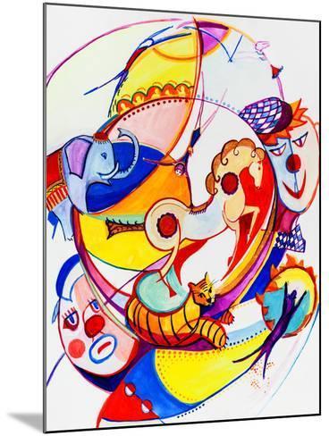 Circus-krimzoya46-Mounted Art Print