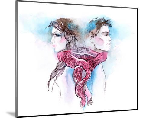 Nuptial Knot-okalinichenko-Mounted Art Print