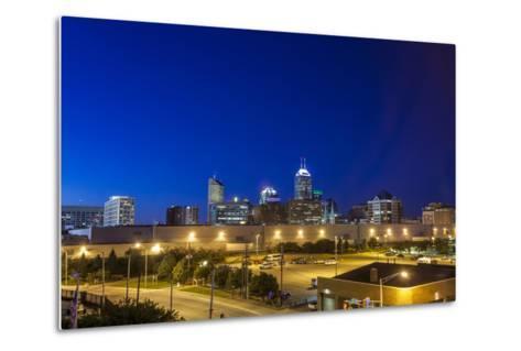 Indianapolis Downtown, Indiana, Usa-Sopotniccy-Metal Print