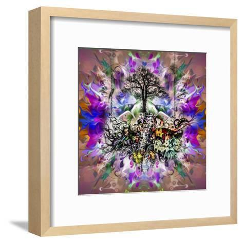 Tree-reznik_val-Framed Art Print