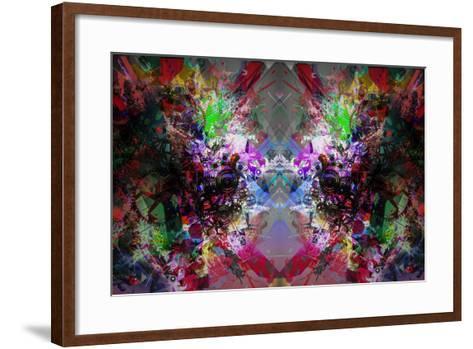 Abstract Symmetry-reznik_val-Framed Art Print