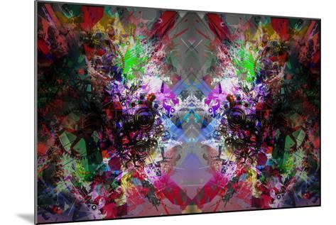 Abstract Symmetry-reznik_val-Mounted Art Print