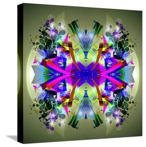 Abstract Symmetry-reznik_val-Stretched Canvas Print