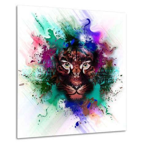 Tiger-reznik_val-Metal Print