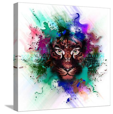Tiger-reznik_val-Stretched Canvas Print
