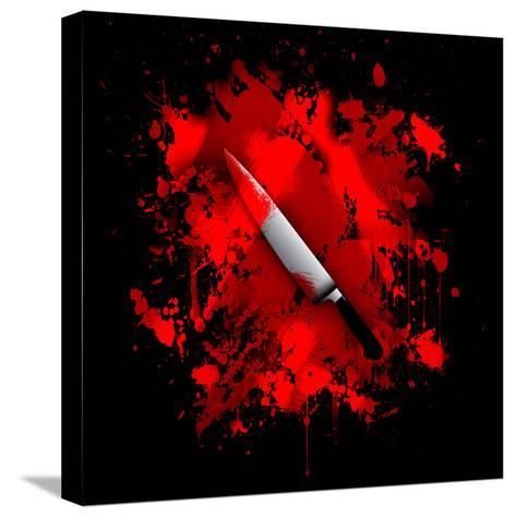Knife-reznik_val-Stretched Canvas Print