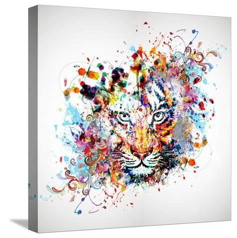 Tiger-reznik_val-Stretched Canvas Print