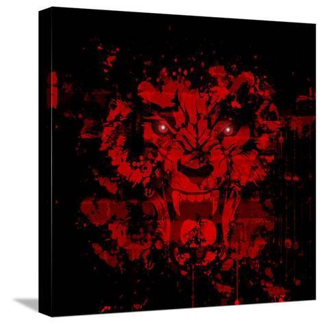 Roar-reznik_val-Stretched Canvas Print