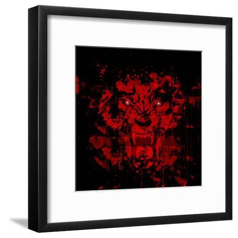 Roar-reznik_val-Framed Art Print