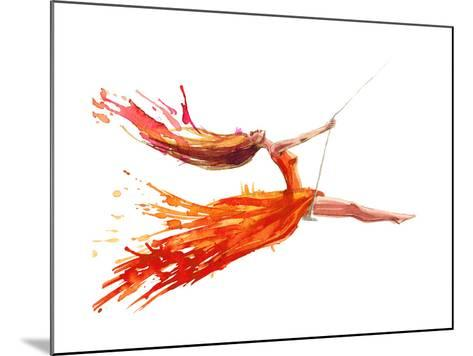 Swing-okalinichenko-Mounted Art Print