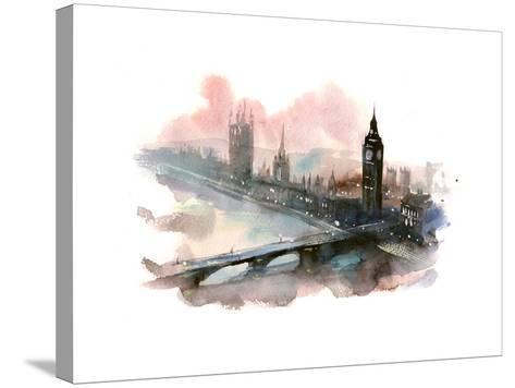 Westminster Bridge-okalinichenko-Stretched Canvas Print