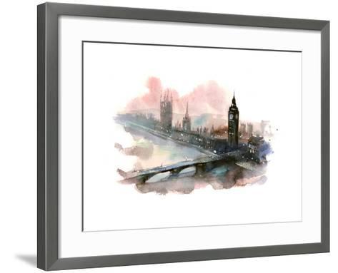 Westminster Bridge-okalinichenko-Framed Art Print