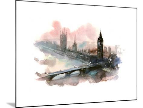 Westminster Bridge-okalinichenko-Mounted Art Print