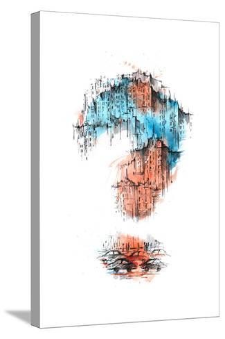 Urban Plot-okalinichenko-Stretched Canvas Print