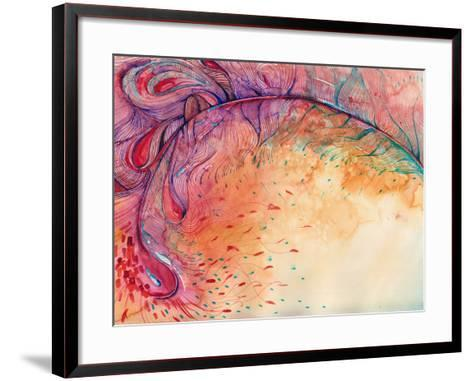 Firebird-okalinichenko-Framed Art Print