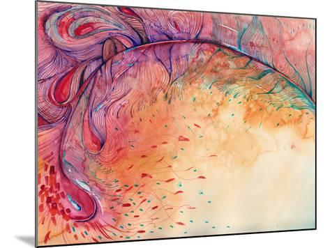 Firebird-okalinichenko-Mounted Art Print
