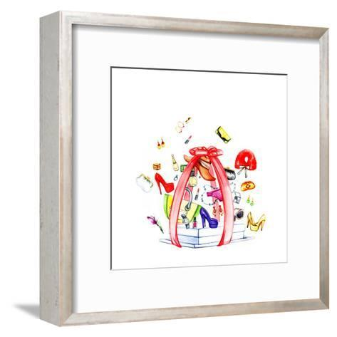 Fashion Purchases . Accessories-Anna Ismagilova-Framed Art Print
