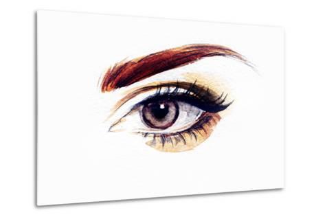 Woman Eye-Anna Ismagilova-Metal Print