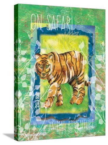 Safari Adventure Jungle Tiger-Bee Sturgis-Stretched Canvas Print