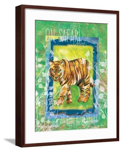 Safari Adventure Jungle Tiger-Bee Sturgis-Framed Art Print
