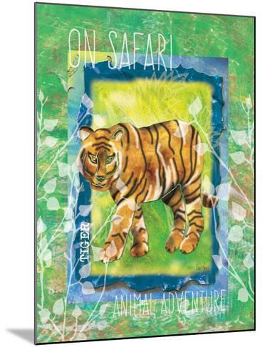 Safari Adventure Jungle Tiger-Bee Sturgis-Mounted Art Print
