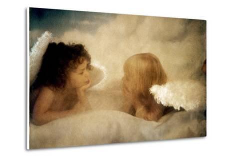Angels Talking-Betsy Cameron-Metal Print
