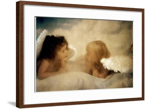Angels Talking-Betsy Cameron-Framed Art Print