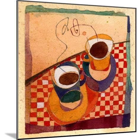 Coffee Cups-Robbin Rawlings-Mounted Art Print