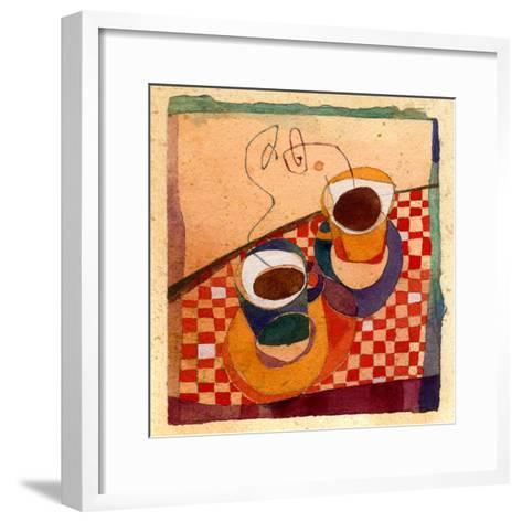 Coffee Cups-Robbin Rawlings-Framed Art Print