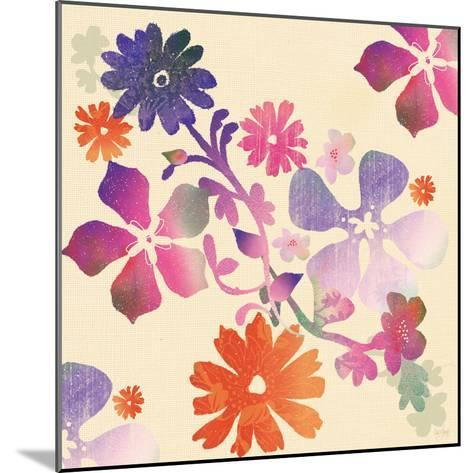 Spring Floral-Bee Sturgis-Mounted Art Print